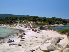 Karydi beach, Halkidiki, Greece