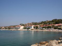 Nea Skioni Beach, Halkidiki,Greece.