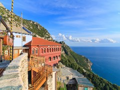 Agia-Anna-monastery-guesthouses-in-Mount-Athos