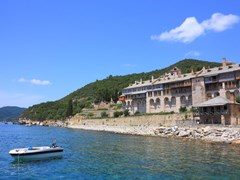 Xenofontos-Monastery-guesthouse-on-Mount-Athos
