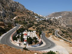 04_Karpathos-Menetes-village-on-Karpathos-(Greece)-with-church-and-graveyard-in-front.