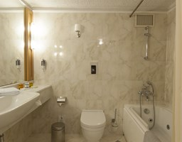 Bomo Athos Palace Hotel: Superior Suite Bathroom