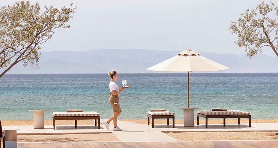 Amanzoe Resort: Beach Club