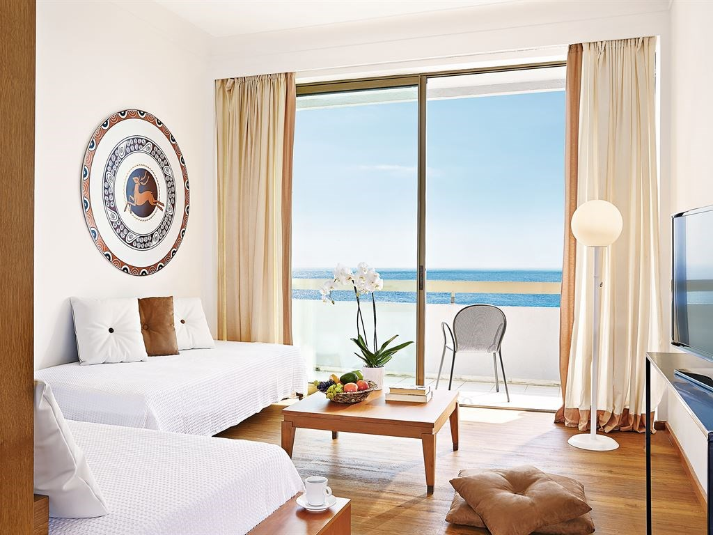 Grecotel Lux.Me Rhodos 4*+ LUX. ME Family Room - Sea View Все приведенные фото номеров или схемы размещения являются примерами и могут отличаться.- 37