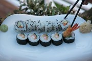 Pomegranate Wellness Spa Hotel: Sushi Degustation