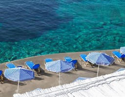 Bomo Peninsula Resort & Spa : Beach Bar Tsimento