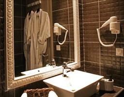 Bomo Aqua Mare Hotel : Junior Suite Bathroom