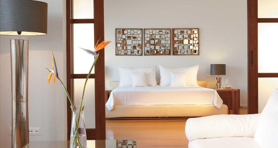 Amirandes Grecotel Exclusive Resort: Royal Villa Master Bedroom Suite & Lounge