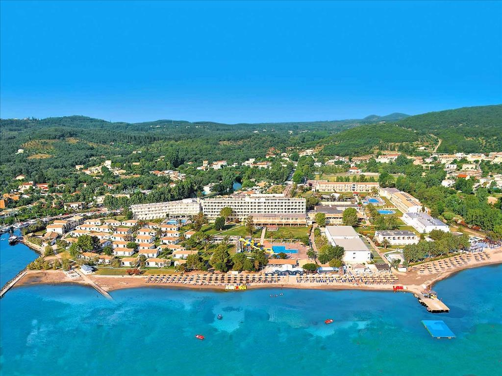 Messonghi Beach Resort 3* aerial view- 2
