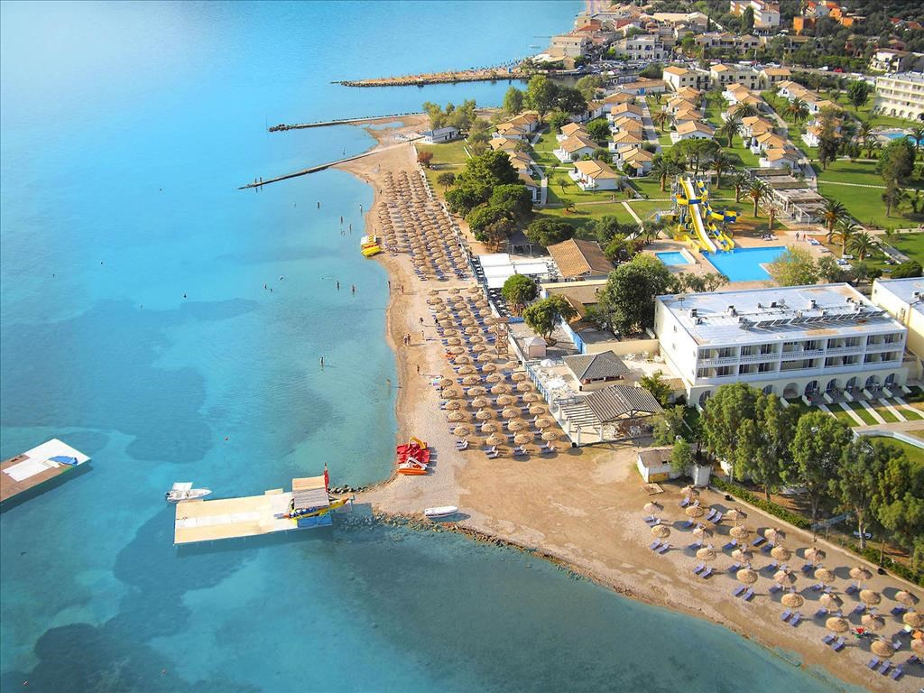 Messonghi Beach Resort 3* aerial view- 1
