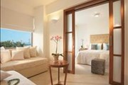 Amirandes Grecotel Exclusive Resort: Family Suite Master Bedroom & Living Area