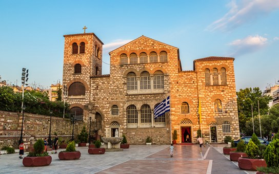 Saint Demetrius church in Thessaloniki